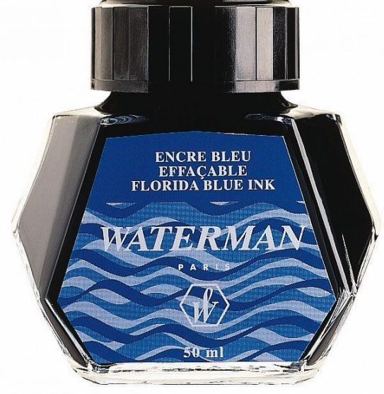 Чернила Waterman blue 51062